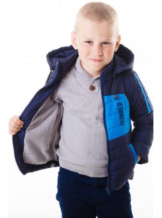 Куртка Хамфри демисезонная (синий/голубой)