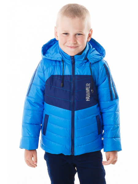 Куртка Хамфри демисезонная (голубой/синий)