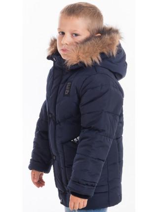 Куртка зимняя РАДИМ д/мальчика (т.синий)
