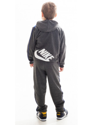 Детский спорт.костюм АВЕНИР д/мальч. (т.серый+электрик)