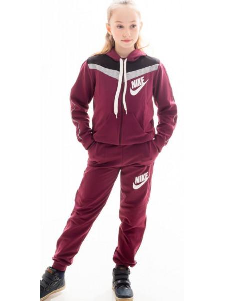 Детский спортивный костюм Нэнси для девочки (бордо)