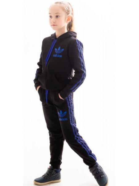 Детский спортивный костюм Аделаида (черный)