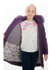 Куртка ИВАННА зимняя (фиолетовый)