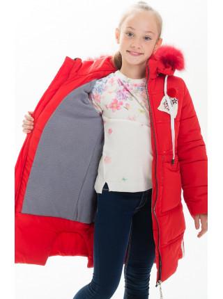 Куртка АЛАННА зимняя (красный)